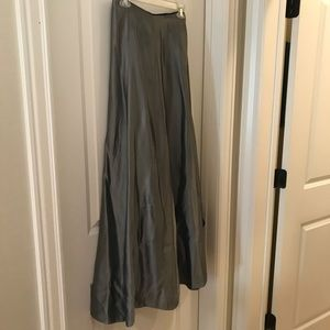Classic Silver Gray evening skirt.